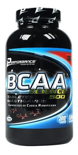 Performance Nutrition - Bcaa 500mg Limão (200 Tabs)