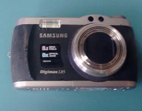 Câmera Digital Samsung Digimax L85 (com Defeito)