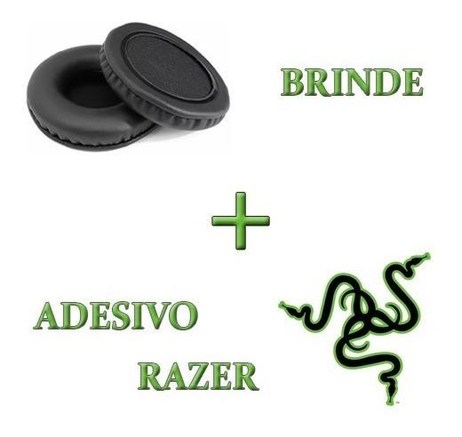 Almofadas Espumas Fone Headset Razer Kraken Pro 2015 Brinde