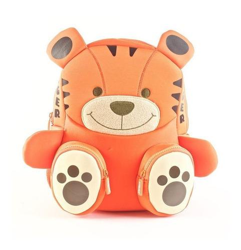 Mochila Kooshi Neoprene Tigre 10 Pulgadas Wabro 91603