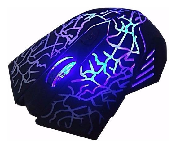 Mouse Gaming Gamer Novo Led 3200 Dpi Pc Notebook 6 Botões
