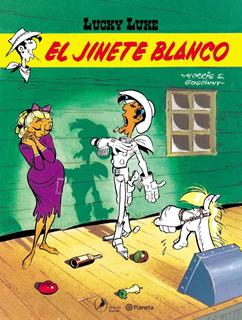 Lucky Luke 4. El Jinete Blanco Morris Planeta