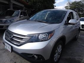 Honda Cr-v Ex Premium 2013 Plata