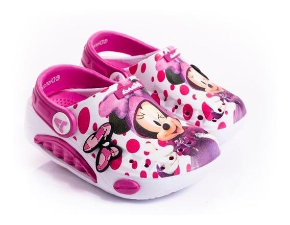 Zuecos De Goma Sandalias Addnice Minnie Disney Fty