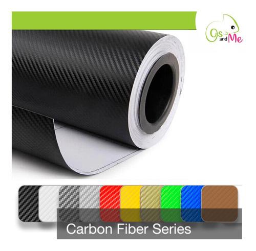 Vinil Decorativo Vinilos Texturizado Fibra Carbono 1.5x1mt