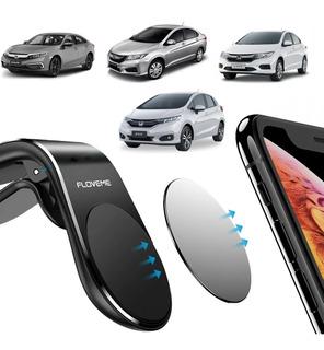 Suporte Celular Magnético Ideal Honda Fit Civic City Hrv
