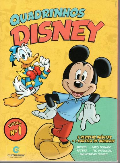 Box Revistas Disney 1 + Adesivo Culturama 01 - Bonellihq D19