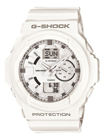 Relógio Casio G-shock Ga-150 Wr-200 5 Alarmes Hora Mundial B