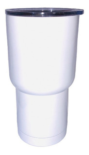 Vaso Viajero Acero Sublimar Sublimacion Blanc Colormake 20oz
