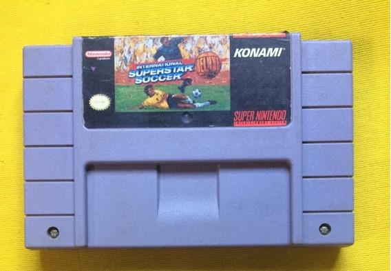 Internatinal Soccer Deluxe Original Snes