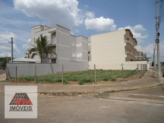 Terreno À Venda, 373 M² Por R$ 320.000,00 - Parque Universitário - Americana/sp - Te0758