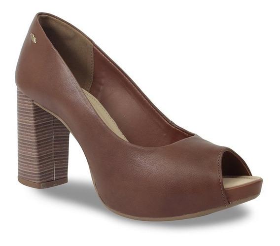 Sapato Peep Toe Dakota Feminino Liso G1342