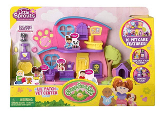 Cabbage Pack Kids Veterinaria Play Set Little Sprouts