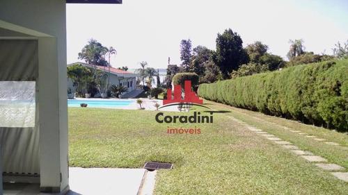 Chácara Com 4 Dormitórios À Venda, 3000 M² Por R$ 1.300.000 - Praia Azul - Americana/sp - Ch0094