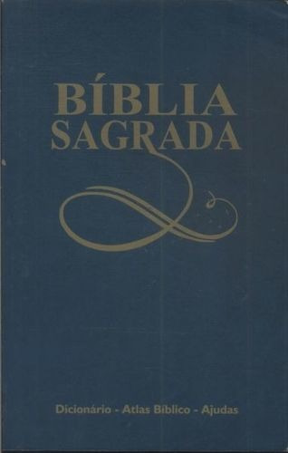 Livro A Biblía Sagrada - Antigo E Novo Testamento Vida