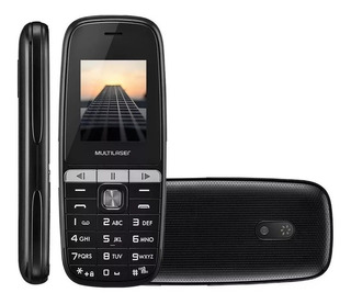 Celular Simples Barato Multilaser Up Play Mp3 Dual Chip Novo