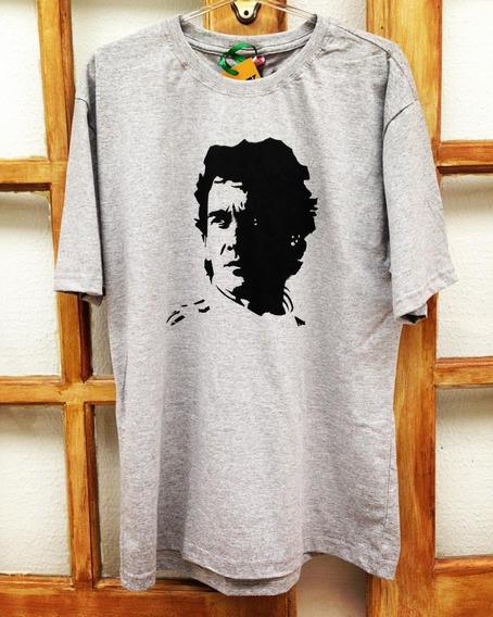 Camiseta / Baby Lookestampada Personalizada - Ayrton Senna