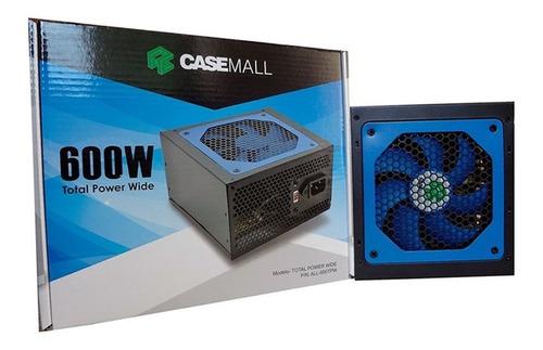 Casemall All-600tpw Total Power Wide Desktop Pc Gamer