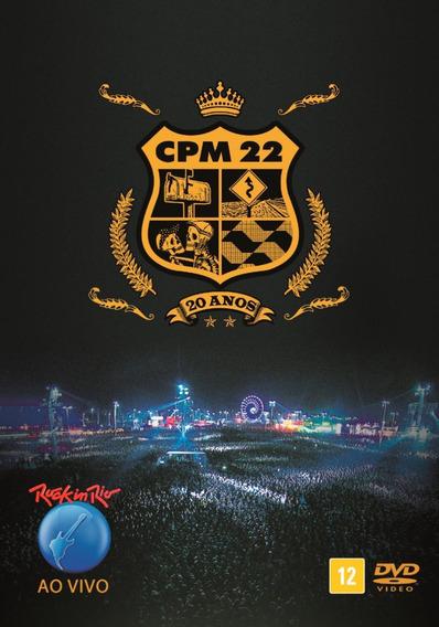 Cpm 22 - Rock In Rio Ao Vivo - 20 Anos - Dvd