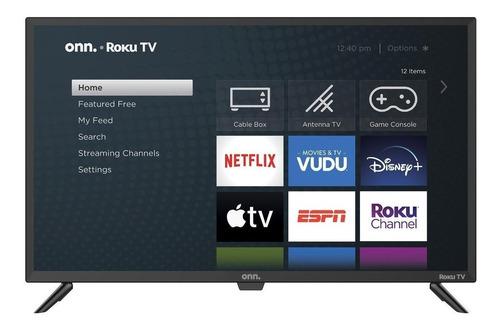"""Smart TV Onn 100012589 LED HD 32"""" 100V/240V"""