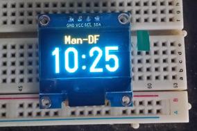 5x Display Oled 0.96 Arduino Amarelo-azul