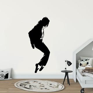 Adesivo De Parede - Michael Jackson Pop Musica Clássico Rei