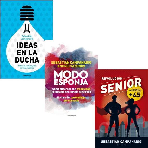 Pack Campanario: Senior + Ideas En La Ducha + Modo Esponja