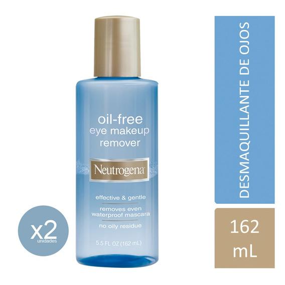 Desmaquillante De Ojos Neutrogena Oil Free 2 Unid