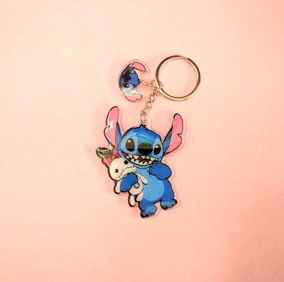 Llavero De Acrílico De Lilo & Stitch Disney
