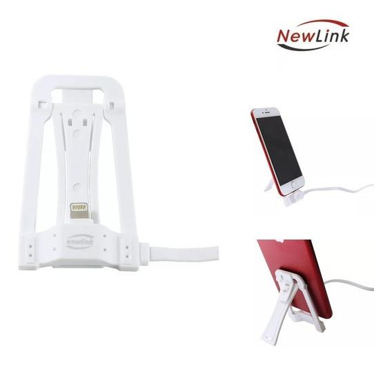 Suporte Carregador Para iPhone 5/6/7 Lightning Ss200 Newlink