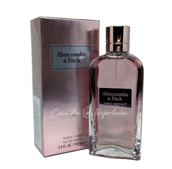 Abercrombie & Fitch First Instinct Woman 100ml Feminino | Original + Amostra