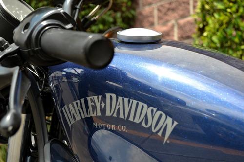 Imagen 1 de 15 de Flamante Harley Sportster Iron 883 Impecable Nacional