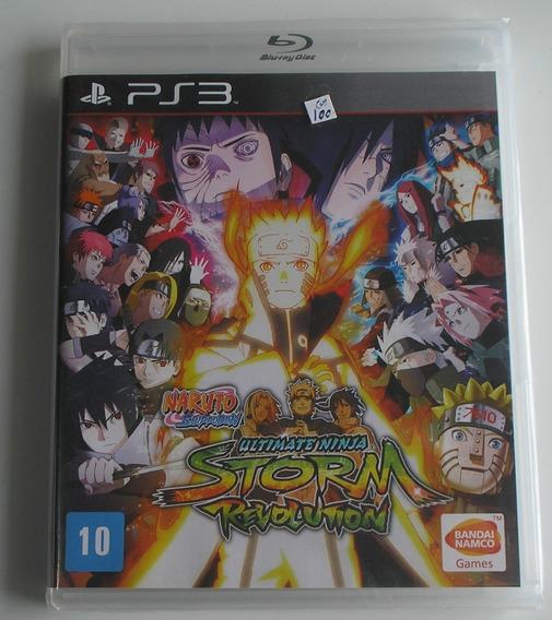Naruto Shippuden Ultimate Ninja Storm Revolution Ps3 Lacrado