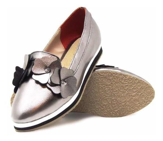 Zapato Para Dama Punta Cerrada Estilo Casual