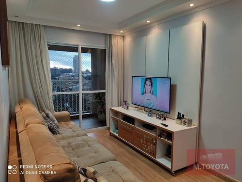 Imagem 1 de 29 de Apartamento Com 3 Dormitórios À Venda, 77 M² Por R$ 450.000,00 - Vila Rosália - Guarulhos/sp - Ap0058