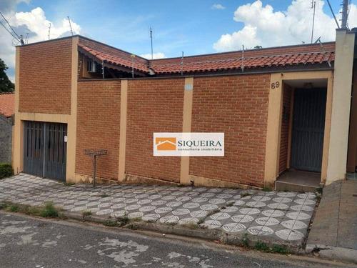 Imagem 1 de 20 de Casa Com 4 Dormitórios Para Alugar, 250 M² Por R$ 3.100/mês - Jardim Embaixador - Sorocaba/sp - Ca2165