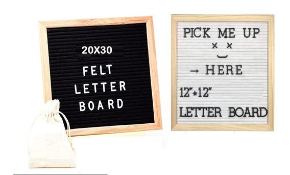 Quadra Recados Cardápio Festas Decoração Letter Board 20x30