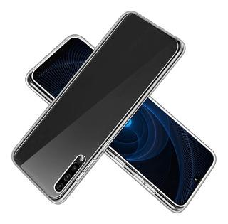 Carcasa Gel Silicona Samsung Galaxy A20s + Lamina