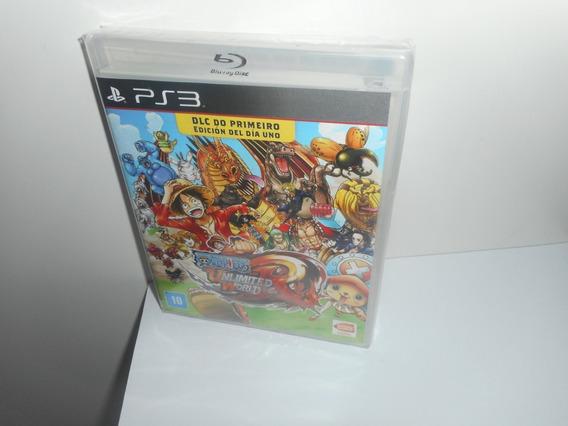 One Piece Unlimited World Ps3 Mídia Física Novo Lacrado