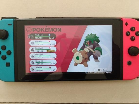 Nintendo Switch + Jogos Pokemon E Mario
