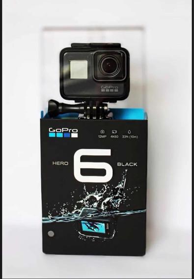 Câmera Gopro Hero 6 + Lacrada + Original + Frete Grátis