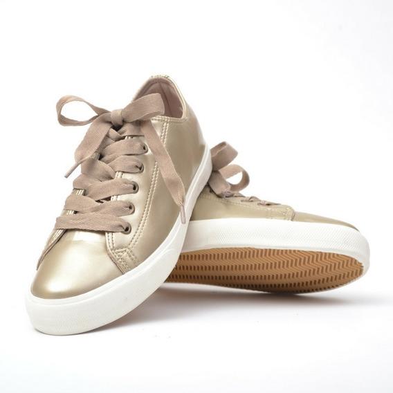Zapatillas Eco Cuero Mujer Moda Sneakers Zapatos