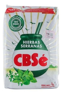 Yerba Cbse Hierbas Serranas 1 Kg.