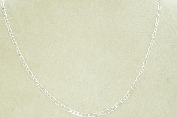 Conjunto Corrente Pulseira 3x1 3 Mm X 70 Cm (g9,5) Prata 925