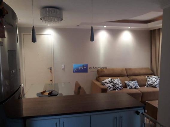Apartamento Com 2 Dormitórios À Venda, 50 M² Por R$ 340.000,00 - Penha De França - São Paulo/sp - Ap0659