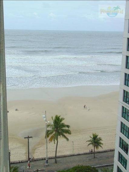 Praia De Pitangueiras - Prédio Frente Ao Mar - Varanda Com Linda Vista Ao Mar - Melhor Local. - Ap3361