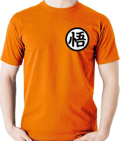 Camiseta Uniforme Goku Dragon Ball Z Super Camisa Blusa