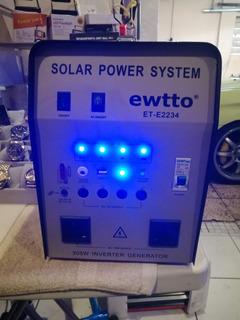Panel Solar Sistema Luz Gratis Ensu Hogar Pague En Minicuota