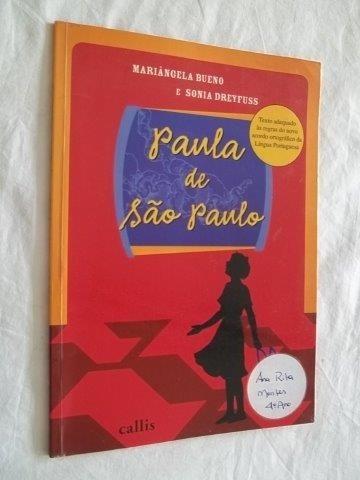 * Paula De São Paulo - Mariángela Bueno - Livro