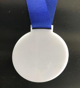 10 Medalha Branca Para Personalizar